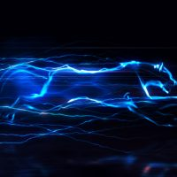 VIDEOHIVE ELECTRIC CHARGE LOGO