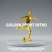 VIDEOHIVE GOLDEN SPORT INTRO
