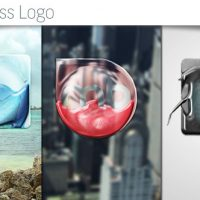 VIDEOHIVE LIQUID GLASS LOGO