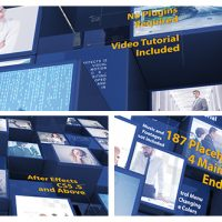 VIDEOHIVE 3D MOSAIC CORPORATE INTRO