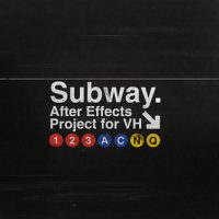 VIDEOHIVE SUBWAY AFTER EFFECTS TEMPLATE