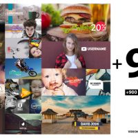VIDEOHIVE 900 TYPOGRAPHY & TITLES