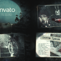 VIDEOHIVE HORROR TITLE SEQUENCE