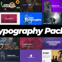 VIDEOHIVE TYPOGRAPHY PACK