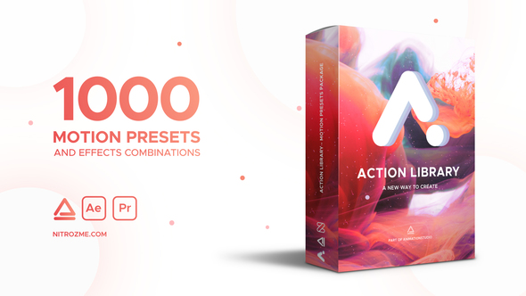 VIDEOHIVE ACTION LIBRARY - MOTION PRESETS PACKAGE - Free