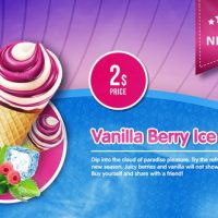 VIDEOHIVE ICE CREAM MENU