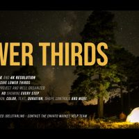 VIDEOHIVE LOWER THIRDS 2.3