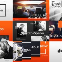 VIDEOHIVE MODERN OPENER + 33 LOWER THIRDS