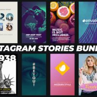VIDEOHIVE INSTAGRAM STORIES BUNDLE