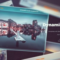 VIDEOHIVE DYNAMIC GLASS SLIDESHOW