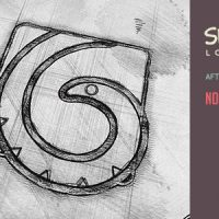 VIDEOHIVE SKETCH INK LOGO REVEAL