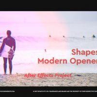 VIDEOHIVE SHAPES MODERN OPENER