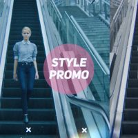 VIDEOHIVE STYLE PROMO FREE AFTER EFFECTS TEMPLATE