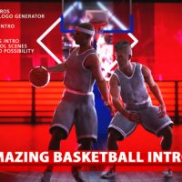 VIDEOHIVE AMAZING BASKETBALL INTROS