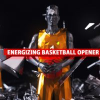 VIDEOHIVE ENERGIZING BASKETBALL OPENER