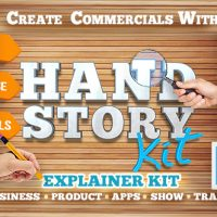 VIDEOHIVE HAND EXPLAINER PRODUCT COMMERCIAL KIT V2