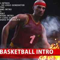 VIDEOHIVE SUPER BASKETBALL INTRO