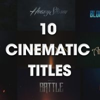 VIDEOHIVE 10 CINEMATIC TITLES