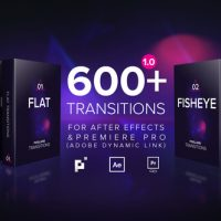 VIDEOHIVE PIXELLAND TRANSITIONS PACK