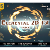 VIDEOHIVE ELEMENTAL 2D FX PACK [300 ELEMENTS] – MOTION GRAPHICS