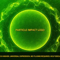 VIDEOHIVE PARTICLE IMPACT LOGO
