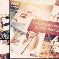 VIDEOHIVE PHOTO MOSAIC SLIDESHOW