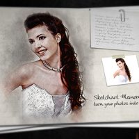 VIDEOHIVE SKETCH ART MEMORIES