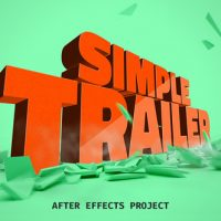 VIDEOHIVE SIMPLE TRAILER