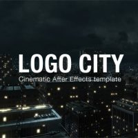 VIDEOHIVE LOGO CITY FREE AFTER EFFECTS TEMPLATE