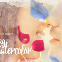 VIDEOHIVE SPRING WATERCOLOR