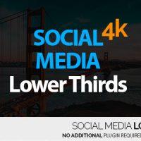 VIDEOHIVE SOCIAL MEDIA LOWER THIRDS 4K