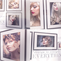 VIDEOHIVE ELEGANT PHOTO GALLERY ON THE WALL