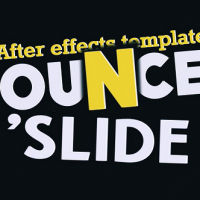 VIDEOHIVE FRESH ANIMATED TITLES – BOUNCE N' SLIDE