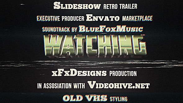 VIDEOHIVE 80S RETRO TITLES VHS EFFECT - Free After Effects