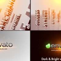 VIDEOHIVE 3D TITLES CORPORATE LOGO