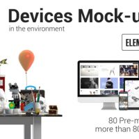 VIDEOHIVE DEVICES MOCK-UP KIT IN ENVIRONMENT