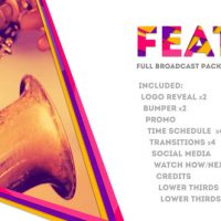 VIDEOHIVE FEAT: FULL BROADCAST PACKAGE