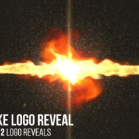 VIDEOHIVE FIRE SMOKE LOGO REVEAL