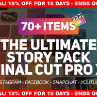VIDEOHIVE THE ULTIMATE STORY PACK – APPLE MOTION TEMPLATES