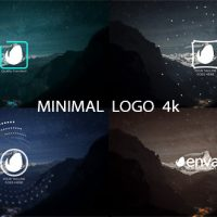 VIDEOHIVE MINIMAL LOGO 4K