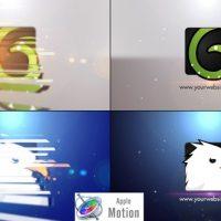 VIDEOHIVE MINIMAL SLICE LOGO V2 – APPLE MOTION TEMPLATES