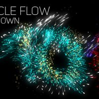VIDEOHIVE PARTICLE FLOW COUNTDOWN