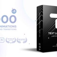 VIDEOHIVE TEXT LIBRARY – HANDY TEXT ANIMATIONS V3