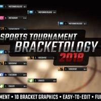 VIDEOHIVE BRACKETOLOGY – SPORTS TOURNAMENT BRACKET