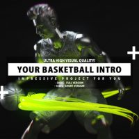 VIDEOHIVE YOUR BASKETBALL INTRO