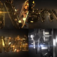 VIDEOHIVE GLARING PATTERN MAKER V2 LOGO REVEAL