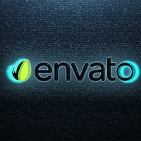 VIDEOHIVE TV DISTORTION LOGO
