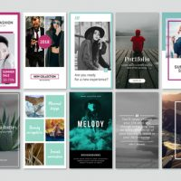 VIDEOHIVE INSTAGRAM STORIES MINIMAL PACK