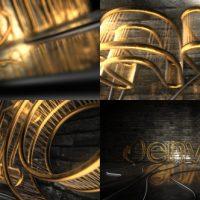 VIDEOHIVE DARK REJECTED ELEMENT 3D LOGO OPENER