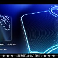 VIDEOHIVE CINEMATIC LOGO TRAILER